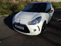 USED 2013 13 CITROEN DS3 1.6 DSTYLE PLUS 3d 120 BHP LOW MILEAGE