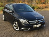 USED 2013 63 MERCEDES-BENZ B CLASS 1.8 B180 CDI BLUEEFFICIENCY SPORT 5d AUTO 109 BHP