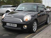 2009 MINI HATCH ONE 1.4 ONE 3d 94 BHP £4895.00