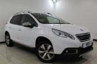 USED 2016 16 PEUGEOT 2008 1.2 S/S ALLURE 5DR AUTOMATIC 82 BHP Full Service History FULL PEUGEOT SERVICE HISTORY + BLUETOOTH + PARKING SENSOR + CRUISE CONTROL + CLIMATE CONTROL + DAB RADIO + ELECTRIC/HEATED MIRRORS + 16 INCH ALLOY WHEELS