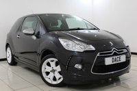 USED 2011 11 CITROEN DS3 1.6 HDI BLACK AND WHITE 3DR 90 BHP Full Service History FULL SERVICE HISTORY + CRUISE CONTROL + AIR CONDITIONING + ELECTRIC WINDOWS + RADIO/CD + 17 INCH ALLOY WHEELS