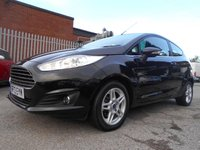 USED 2013 13 FORD FIESTA 1.0 ZETEC 3d 99 BHP ONE FORMER KEEPER / FREE ROAD TAX