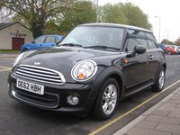2012 MINI HATCH ONE 1.6 ONE 3d 98 BHP £7195.00