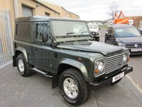 USED 2006 56 LAND ROVER DEFENDER 2.5 90 TD5 COUNTY HARD TOP 1d 120 BHP NO VAT