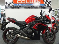 USED 2016 66 KAWASAKI ER-6F 649cc EX 650 FGF ABS  ONLY 2,900 MILES WITH FSH!!!