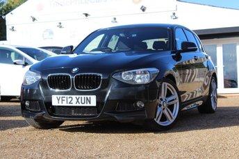2012 BMW 1 SERIES 2.0 118D M SPORT 5d 141 BHP £8450.00