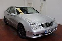 2007 MERCEDES-BENZ C CLASS 1.8 C180 KOMPRESSOR SE SPORTS 3d AUTO 141 BHP £4495.00