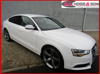 "USED 2013 63 AUDI A5 2.0 SPORTBACK TDI SE TECHNIK S/S 5dr AUTO 150 BHP *STUNNING VEHICLE* BLACK EDITION STYLING PACK & 20""ALLOYS"