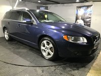 USED 2010 60 VOLVO V70 2.0 D3 SE LUX 5d 161 BHP Bluetooth  :  Satellite Navigation : Full leather upholstery   :   Electric/Memory driver's seat   :   Remotely operated tailgate  : Rear parking sensors   :   Fully stamped service history   :   New cambelt recently fitted