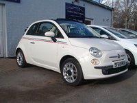 2009 FIAT 500 1.2 C LOUNGE 3d 69 BHP £4495.00