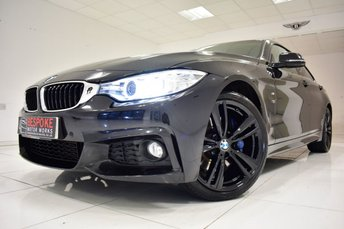 2015 BMW 4 SERIES 420D M SPORT GRAN COUPE AUTOMATIC £18250.00