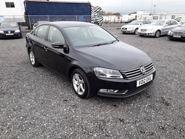 2012 12 VOLKSWAGEN PASSAT 2.0 S TDI BLUEMOTION TECHNOLOGY 4d 139 BHP