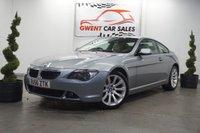 2006 BMW 6 SERIES 3.0 630I SPORT 2d AUTO 255 BHP £6733.00