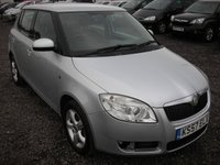 2008 SKODA FABIA 1.4 LEVEL 2 TDI 5d 79 BHP £SOLD