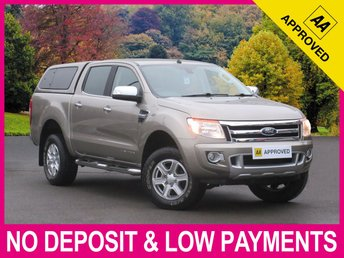 2015 FORD RANGER 3.2 TDCI LIMITED DOUBLE CAB HARDTOP CANOPY SAT NAV £14950.00