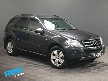 2010 MERCEDES-BENZ M CLASS 3.0 ML300 CDI BLUEEFFICIENCY SE £12270.00