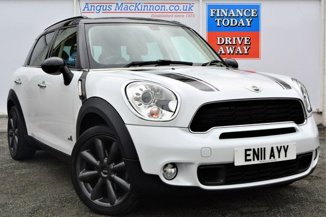 2011 11 MINI COUNTRYMAN 2.0 COOPER SD ALL4 5d 141 BHP