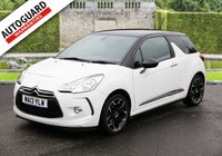 USED 2013 13 CITROEN DS3 1.6 DSTYLE PLUS 3d 120 BHP Finance options available