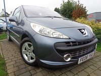 USED 2008 08 PEUGEOT 207 1.4 SPORT 3d 94 BHP **Low Mileage Pano Roof Full Service History 9 Stamps 12 Months Mot**