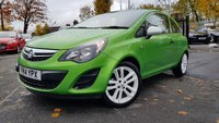 USED 2014 14 VAUXHALL CORSA 1.2 STING 3d 83BHP FSH+SPECIAL PAINT+WHITE ALLOYS