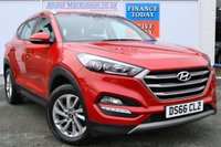 USED 2016 66 HYUNDAI TUCSON 1.7 CRDI SE NAV BLUE DRIVE 5d Family SUV with Low Road Tax and High 61mpg ONE FORMER KEEPER