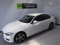 2016 BMW 3 SERIES 2.0 320D ED SPORT 4d AUTO 161 BHP £13500.00