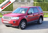 2013 LAND ROVER FREELANDER 2.2 TD4 GS 5d 150 BHP £11995.00