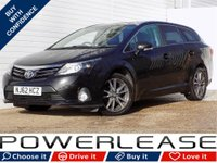 USED 2012 62 TOYOTA AVENSIS 2.0 TR D-4D 5d 124 BHP LEATHER SAT NAV CLIMATE CONT