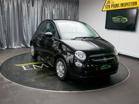 USED 2008 58 FIAT 500 1.2 POP 3d 69 BHP £0 DEPOSIT FINANCE AVAILABLE, CD/MP3/RADIO, CLIMATE CONTROL, CLOTH UPHOLSTERY, FIAT CITY DRIVE, STEERING WHEEL CONTROLS, TRIP COMPUTER, USB CONNECTION