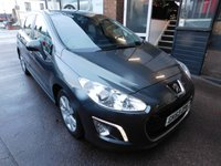 2013 PEUGEOT 308 1.6 HDI ACTIVE NAVIGATION VERSION 5d 92 BHP £4999.00