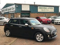 2015 MINI HATCH ONE 1.2 ONE 5 Door Midnight Black Metallic 101 BHP £9995.00