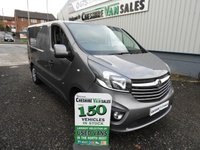 2015 VAUXHALL VIVARO 1.6 2700 L1H1 CDTI SPORTIVE  118 BHP 1  OWNER FROM NEW AIR CON  £8995.00