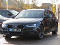 2014 AUDI A4 2.0 AVANT TDI S LINE START/STOP 5d AUTO 148 BHP £12990.00