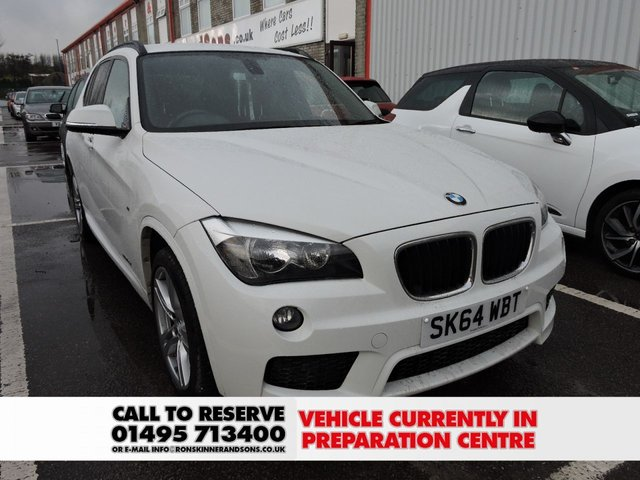 View our 2014 64 BMW X1 2.0 SDRIVE18D M SPORT 5d 141 BHP