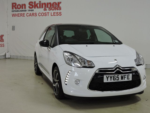 View our 2015 65 DS DS 3 1.2 PURETECH DSTYLE NAV S/S 3d 109 BHP