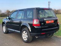 USED 2008 57 LAND ROVER FREELANDER 2.2 TD4 GS AUTO 159 BHP 5DR ESTATE +LEATHER+P/SENSORS+A/C+
