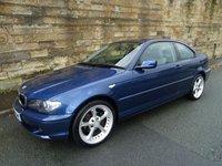 2004 BMW 3 SERIES 2.0 318CI SE 2d 141 BHP £2250.00