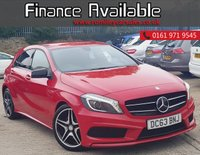USED 2013 63 MERCEDES-BENZ A CLASS 2.1 A220 CDI BLUEEFFICIENCY AMG SPORT 5d AUTO 170 BHP