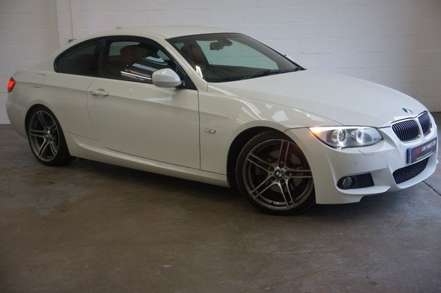 2011 11 BMW 3 SERIES 3.0 325D M SPORT PLUS 2d AUTO 202 BHP BIG SCREEN SOLD TO WILLIAM FROM SCOTLAND