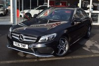 USED 2016 16 MERCEDES-BENZ C CLASS 2.1 C220 D AMG LINE 4d AUTO 170 BHP FINANCE TODAY WITH NO DEPOSIT