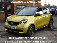 2015 SMART FORFOUR 1.0 PRIME PREMIUM 5d 71 BHP £7295.00