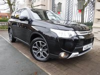 USED 2015 15 MITSUBISHI OUTLANDER 2.3 DI-D GX 3 5d 147 BHP *** FINANCE & PART EXCHANGE WELCOME *** 1 OWNER DIESEL 4X4 7 SEATS FULL BLACK LEATHER BLUETOOTH PHONE PARKING SENSORS CRUISE CONTROL AIR/CON