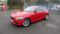 USED 2014 64 BMW 1 SERIES 1.6 116D EFFICIENTDYNAMICS 3d 114 BHP £0.00 ANNUAL ROAD TAX!!