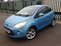 2010 FORD KA 1.2 TITANIUM 3d 69 BHP ALLOYS PRIVACY A/C MOT 04/19 £2490.00