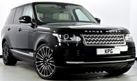 """USED 2015 65 LAND ROVER RANGE ROVER 3.0 TD V6 Vogue 4X4 (s/s) 5dr  Pan Roof, Reverse Cam, 22""""s +"""