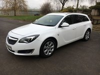 USED 2016 16 VAUXHALL INSIGNIA 1.6 SRI NAV CDTI 5d 134 BHP High MPG, Alloy Wheels, Bluetooth, Sat Nav, ULEZ Compliant