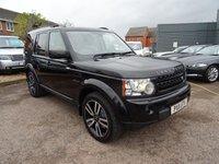 2011 LAND ROVER DISCOVERY 3.0 4 SDV6 LANDMARK LE 5d AUTO 245 BHP £16990.00