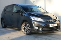 USED 2013 63 TOYOTA VERSO 2.0 ICON D-4D 5d 122 BHP 1 OWNER + CLIMATE CONTROL + 7 SEATS + PRIVACY GLASS + BLUETOOTH