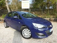 USED 2013 63 VAUXHALL ASTRA 1.3 EXCLUSIV CDTI 5dr Cruise Control & Air Con