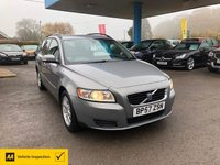 USED 2008 57 VOLVO V50 1.8 S 5d 124 BHP NEED FINANCE? WE CAN HELP